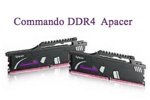 Серия модулей памяти DDR4 Commando от Apacer