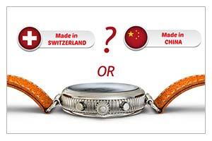 Swiss Made часы собираются в Китае